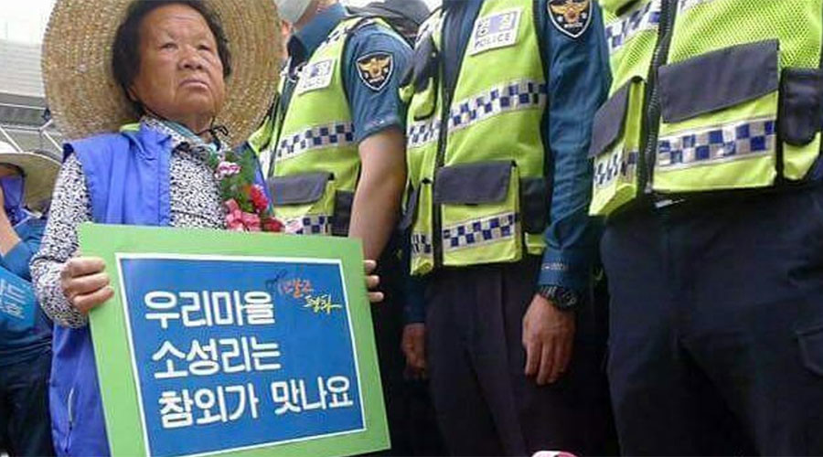 South Koreans demand court injunction to block THAAD deployment