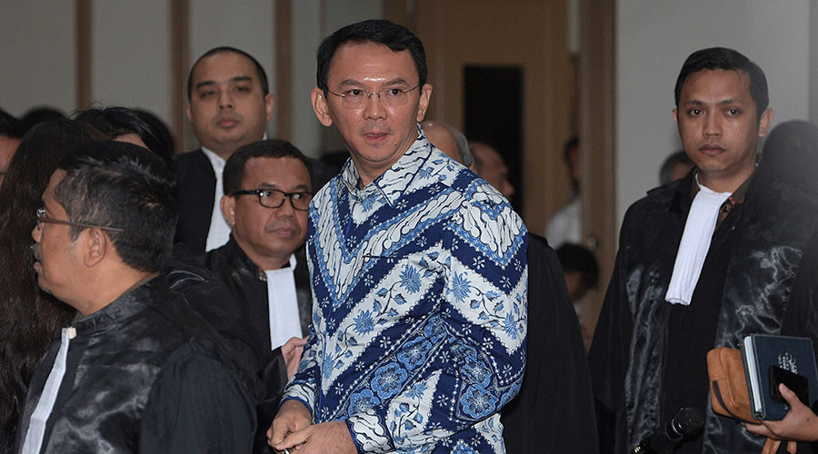 Christian Jakarta governor sentenced to 2 years for 'blasphemy' against Islam