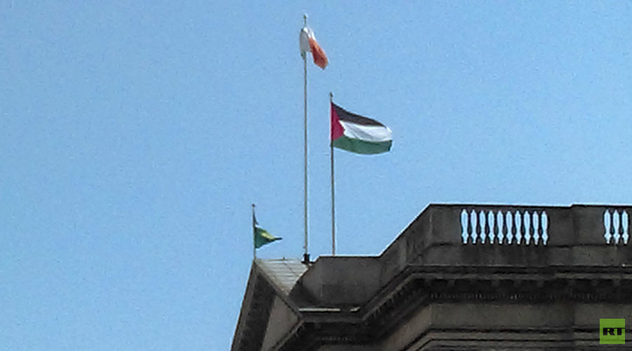 Dublin Council flies Palestinian flag over city hall in 'gesture of solidarity'