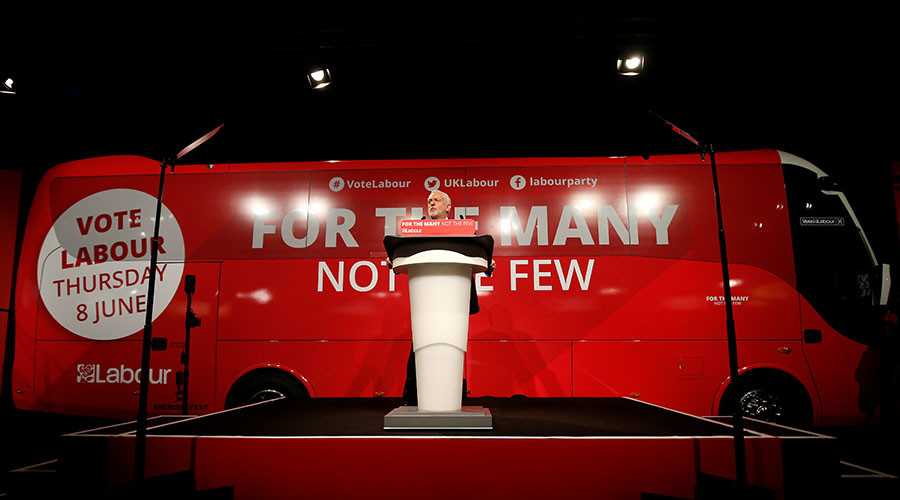'We have 4 weeks to ruin their party': Fighting talk as Labour launches battle bus