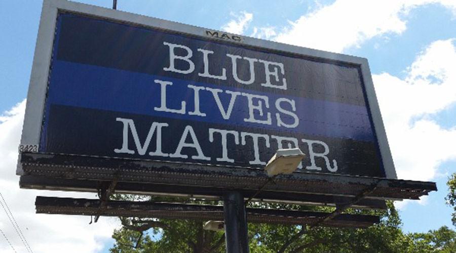 'Blue Lives Matter' billboard set up near scene of Charleston cop's killing of Walter Scott