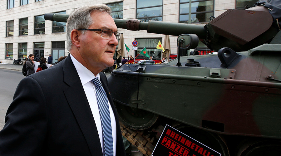 Merkel's former defense minister joins arms corp with links to Saudis, USAF & Erdogan