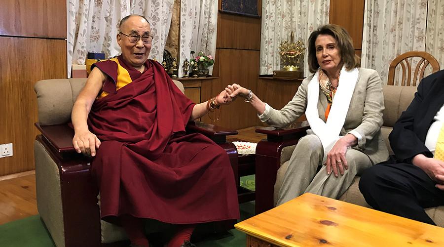 US lawmakers meet Dalai Lama amid Trump shift to better US-China relations
