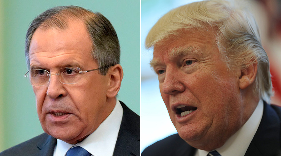 Lavrov praises Trump at meeting