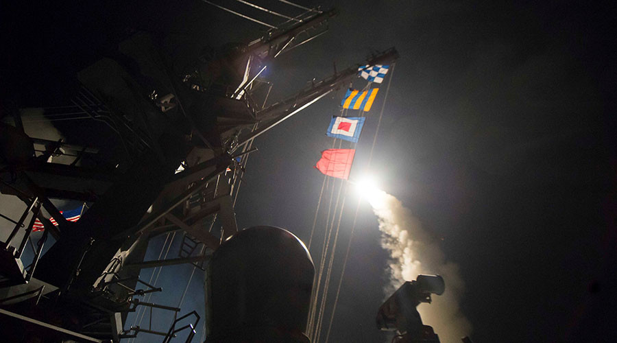 Rights group sues Trump admin for legal explanation of Syria missile strike