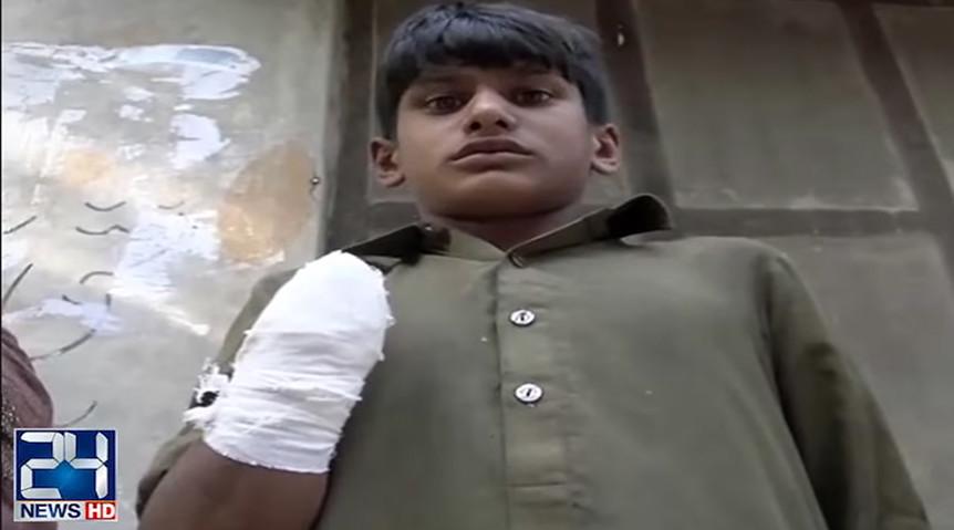 Pakistani teen 'has hand chopped off' for demanding salary (VIDEO)