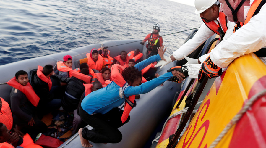 Migrant NGOs accused of colluding with human traffickers in Mediterranean