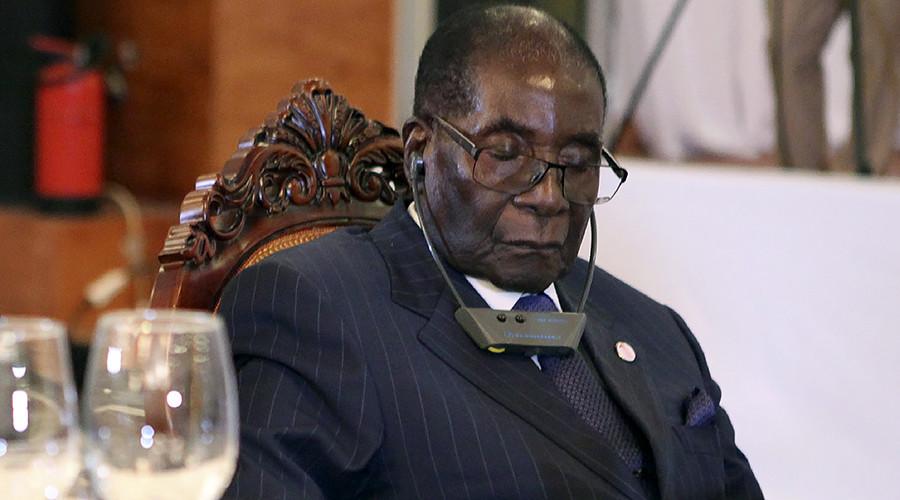 Mugabe not sleeping through meetings, just 'resting his eyes' – spokesperson
