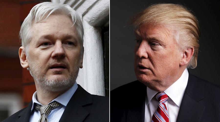 WikiLeaks trolls Trump hard over president's 'Comey tapes' tweet