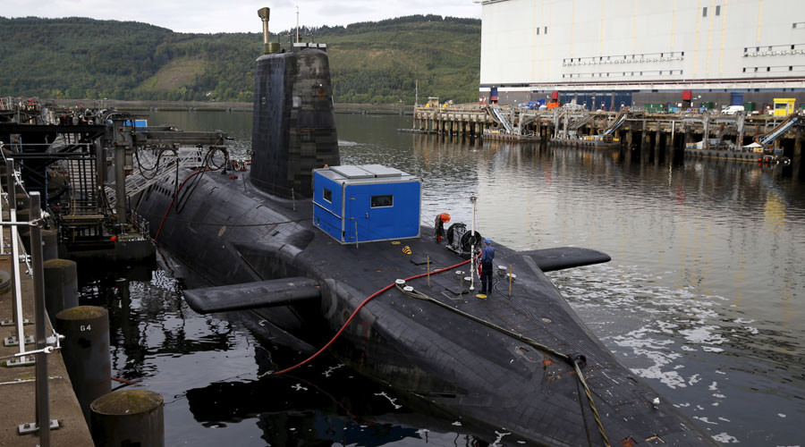 UK defence secretary insists nuclear subs safe despite concerns over #WannaCry vulnerability