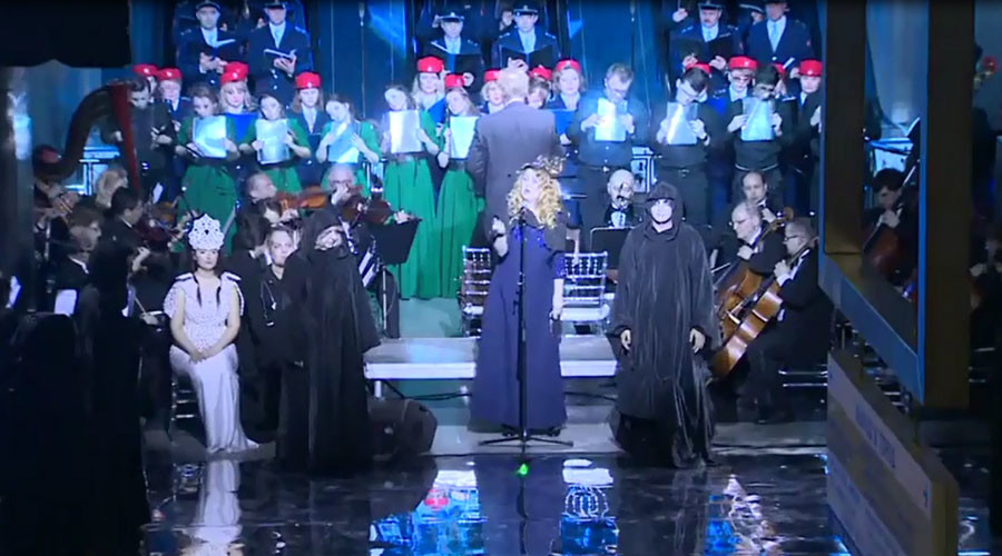 'Middle-earth' on the Metro: Moscow station hosts Elvish-language opera (VIDEO)