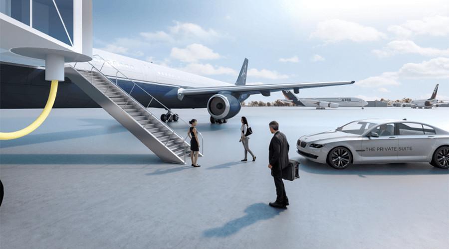 High fliers: Mega rich get their own private terminal at LAX (PHOTOS)