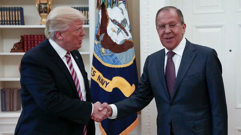 Trump-Lavrov meeting focused on Syria safe zones & need to expand them nationwide