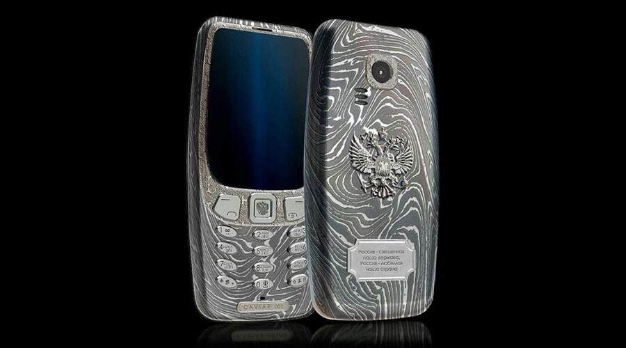Indestructible phone:  Italian luxury brand to make titanium Nokia 3310