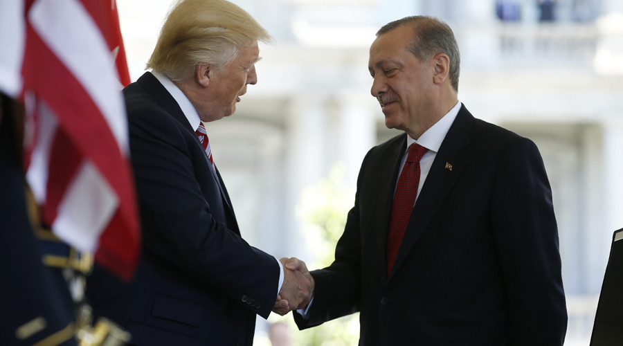 Arms for Kurds, sheltering of Gulen among gripes Erdogan bringing to talks with Trump