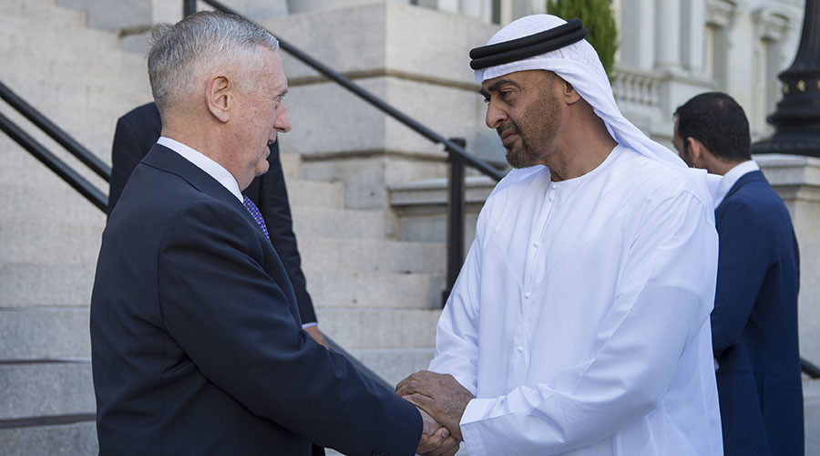 Pentagon signs new defense deal with UAE over US troop presense