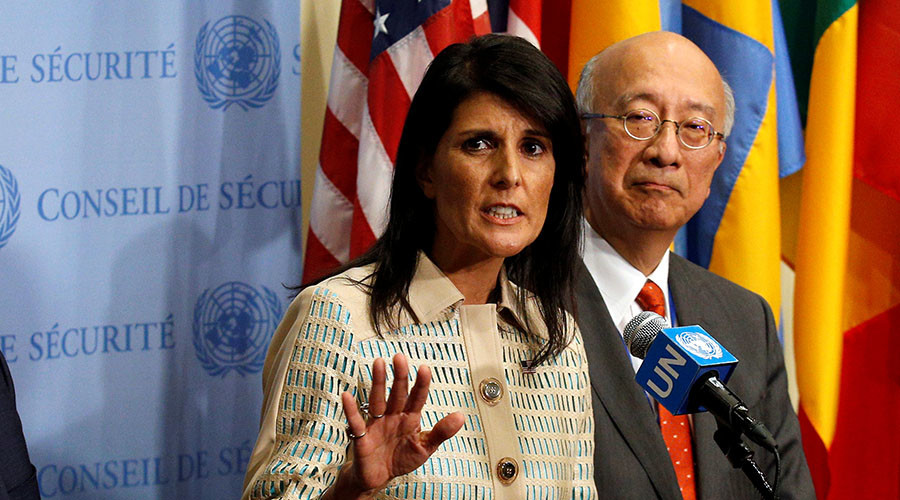 With us or against us: Haley threatens other countries with sanctions over North Korea