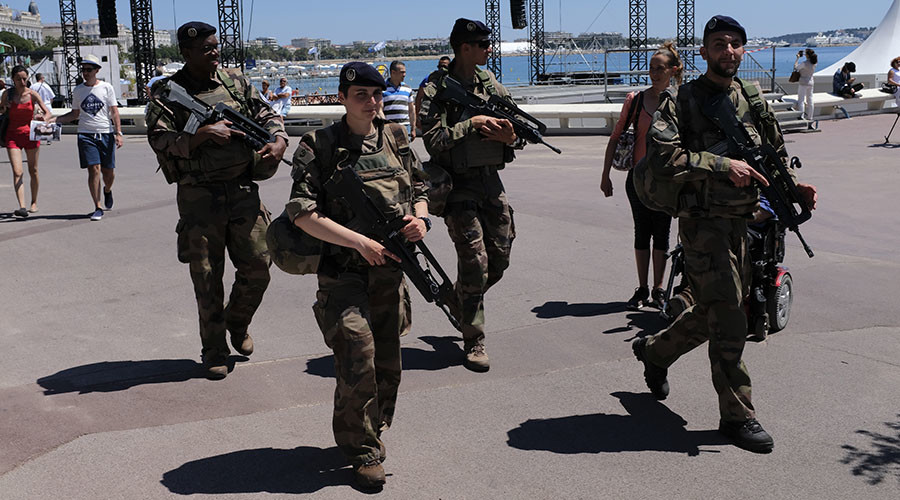 Warship, snipers & troops: Unprecedented security as star-studded Cannes film festival begins