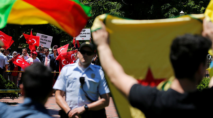 Erdogan's guards may go unpunished after DC attack on protesters
