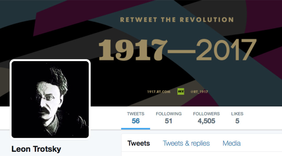 #1917LIVE: Leon Trotsky urges world's proletariat to unite against bourgeoisie in Twitter Q&A