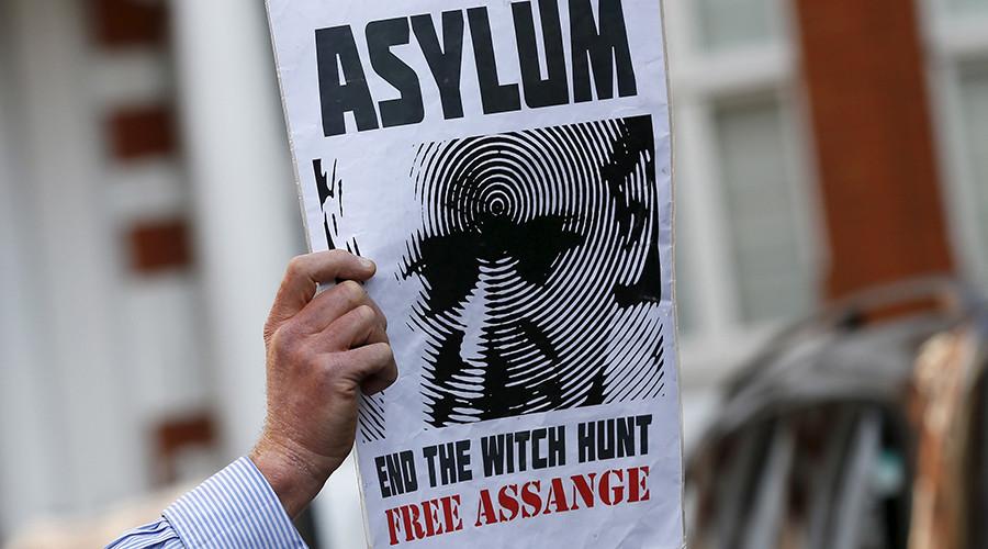 Ecuador asks UK PM Theresa May to give Assange safe passage