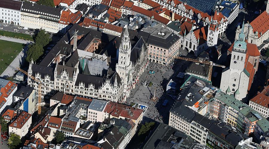 Man burns himself to death in Munich square