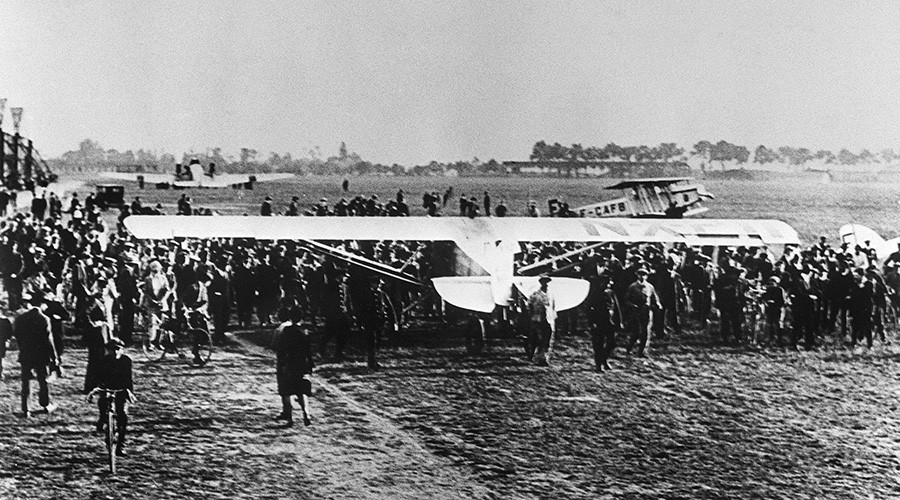 Spirit of St. Louis: Charles Lindbergh's groundbreaking flight remembered 90yrs on (VIDEO)