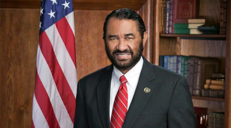 Texas congressman threatened with lynching after calling for Trump's impeachment