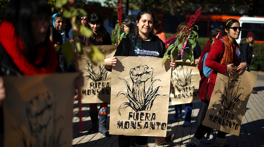 'Taking back our food sovereignty': Protesters worldwide join March Against Monsanto (PHOTOS)