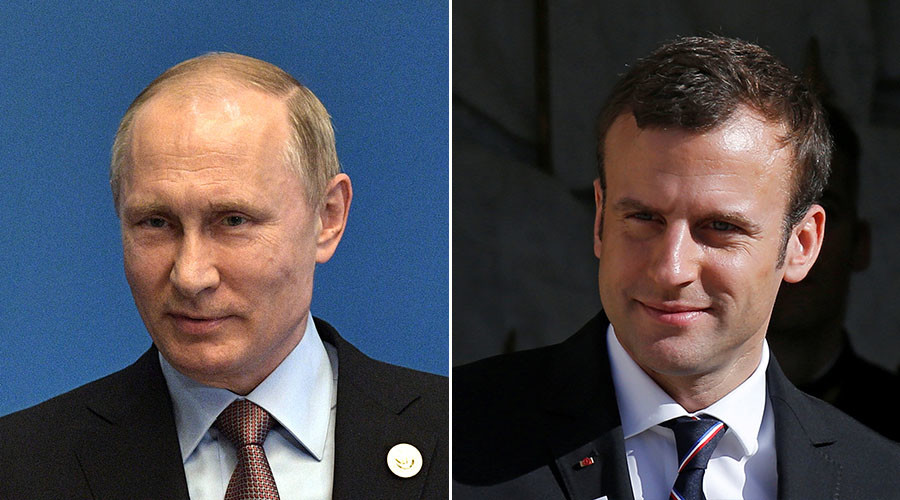 Putin to meet Macron during visit to Paris on May 29 – Kremlin