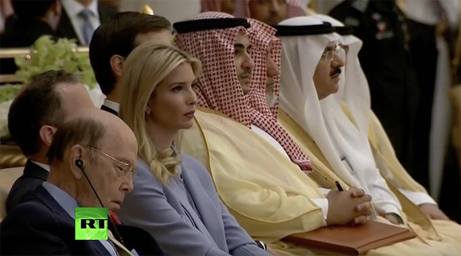 Trump's Saudi speech puts commerce secretary to sleep (VIDEO)
