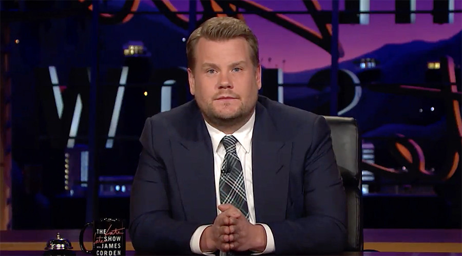 'Spirit of people will grow stronger': James Corden delivers emotional Manchester message (VIDEO)