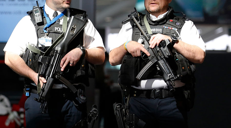 Man suspected of plotting terrorist attack arrested by London's Stansted airport police