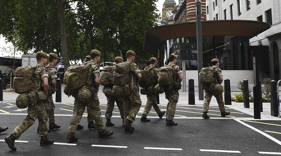 1,000 soldiers on streets as nervous Britain prepares for 'imminent' terror attack