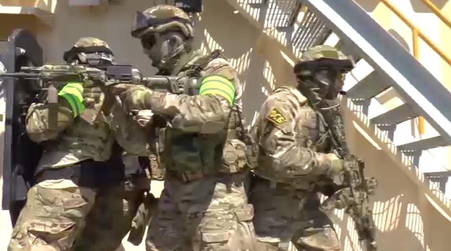 Divers, drones & helicopters: Massive FSB drills begin in Crimea (VIDEO)