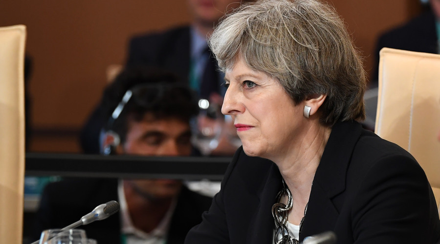 'Internet battlefield': Theresa May calls on G7 leaders to fight online extremism