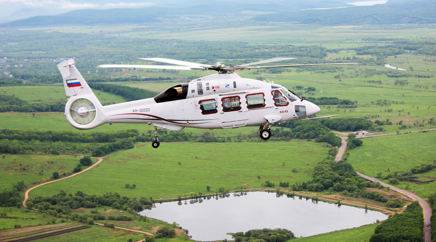 Newest Russian helicopter takes to the sky for 1st time (VIDEO)