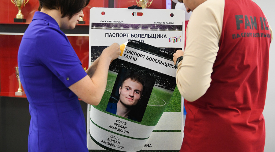 100,000 'FAN ID' passports issued for Confederations Cup