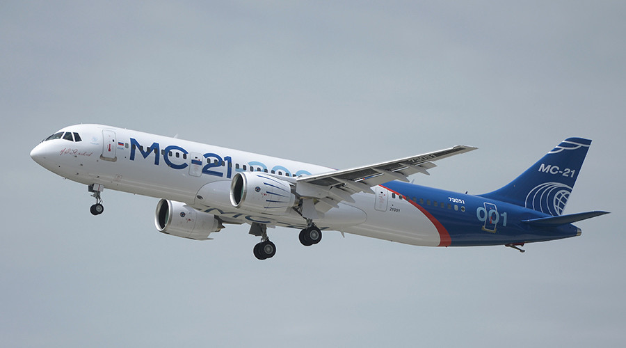 Maiden jet flight lifts Russia's ambition