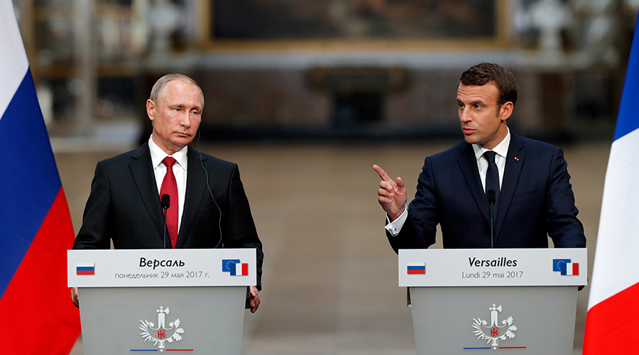 'Putin and I have disagreements, discussed them in frank exchange' – Macron