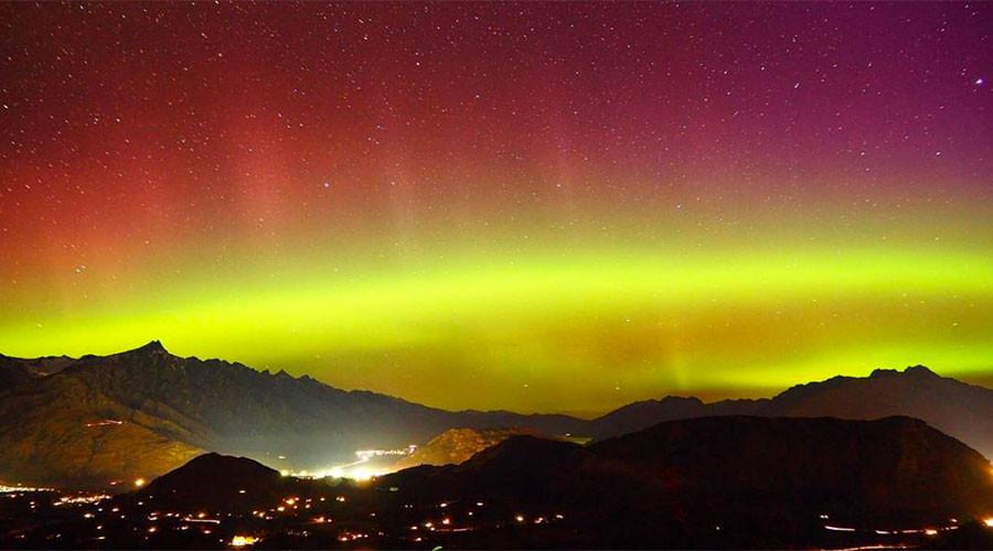 Stunning 'southern lights' illuminate night sky above New Zealand (PHOTOS, VIDEO)