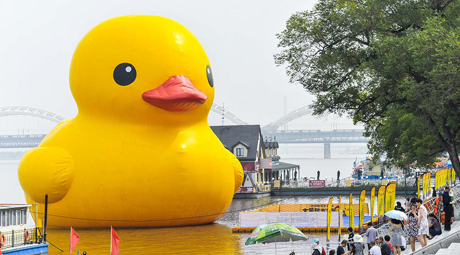 Giant rubber ducky costs Ontario $200k