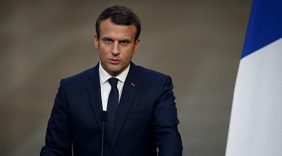 'Disgusting hypocrisy': Macron's 'RT-Sputnik propaganda' comments ignite social media backlash
