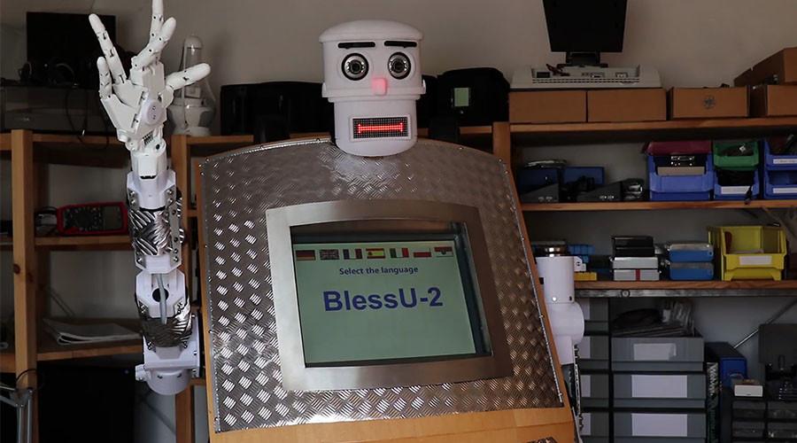 Αποτέλεσμα εικόνας για ROBOT-PRIEST