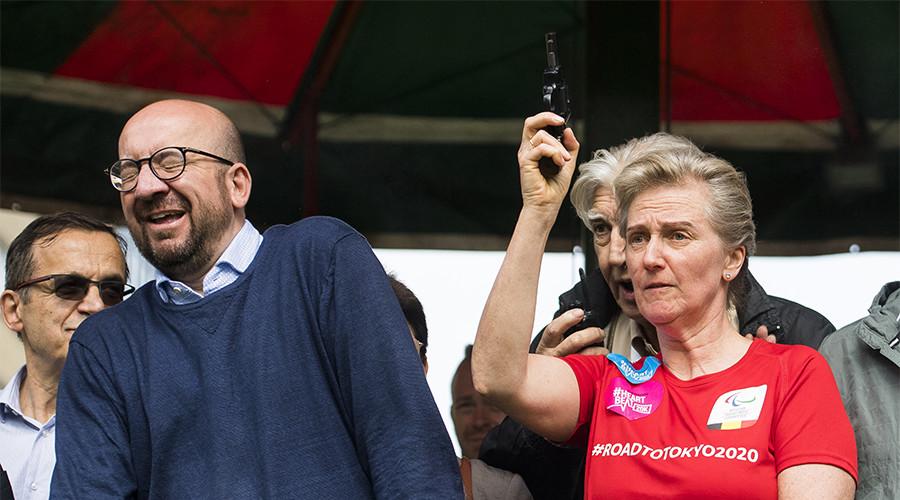 Belgian princess discharges firearm, 'deafens' PM in bizarre road race incident
