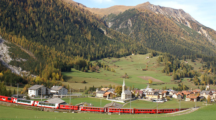 Don't say cheese! Swiss village bans photos of scenery to avoid upsetting people who can't visit