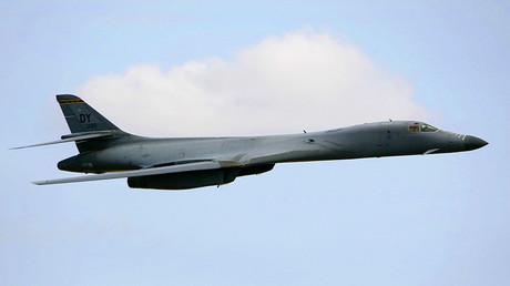 A U.S. Air Force B-1B bomber. ©Darrin Zammit Lupi