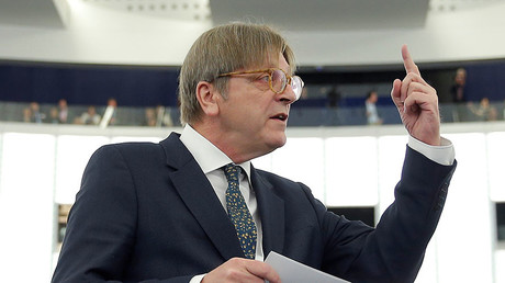 European Union's chief Brexit negotiator Guy Verhofstadt. © Vincent Kessler
