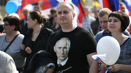 Two-thirds of Russians want Putin to remain president after 2018