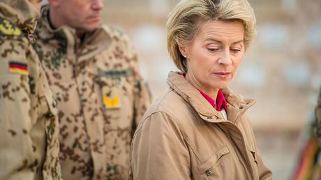 German Defence Minister Ursula von der Leyen. ©Gregor Fischer